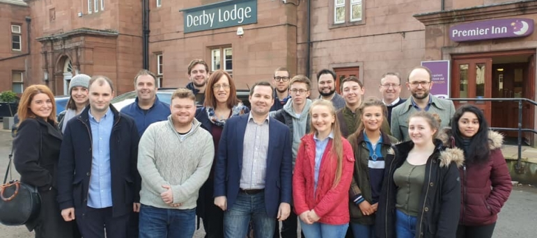 Knowsley Conservatives at Derby lodge, Huyton
